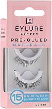 Profumi e cosmetici Ciglia finte №031 - Eylure Pre-Glued Naturals