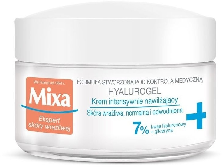 Crema viso intensamente idratante - Mixa Sensitive Skin Expert Hyalurogel