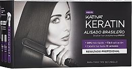 Profumi e cosmetici Set - Kativa Keratin (shm/35ml + cond/35ml + mask/100ml)