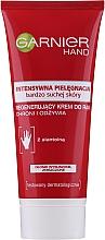 Profumi e cosmetici Crema mani intensiva rigenerante - Garnier Intensive Care Very Dry Skin Regenerating Hand Cream