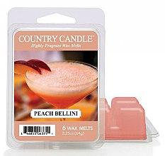 Profumi e cosmetici Cera per lampada aromatica - Country Candle Peach Bellini Wax Melts