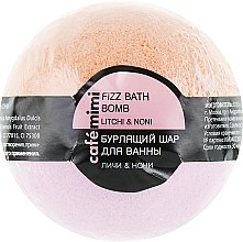 "Profumi e cosmetici Bomba da bagno ""Lychee and Noni"" - Cafe Mimi Bubble Ball Bath"