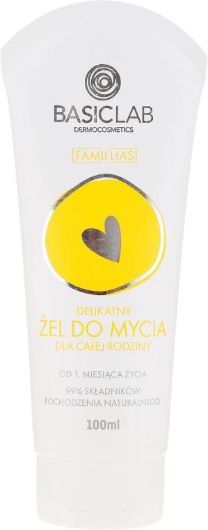 Gel detergente delicato per tutta la famiglia - BasicLab Dermocosmetics Famillias
