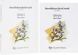 """Profumi e cosmetici Maschera in tessuto """"Spagna"""" - Calluna Medica Spain Anti-Acne Biocellulose Facial Mask"""