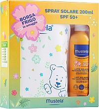 Profumi e cosmetici Set - Mustela Bebe Solare (sun/spray/200ml + bag)