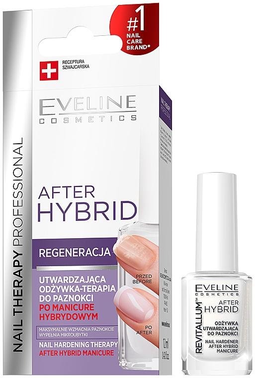 Condizionante rassodante per unghie - Eveline Cosmetics After Hybrid Manicure