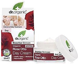 """Profumi e cosmetici Crema antietà, da giorno """"Rose Otto"""" - Dr. Organic Bioactive Skincare Rose Otto Day Cream"""