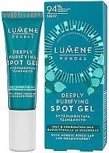 Profumi e cosmetici Gel anti-acne - Lumene Puhdas Deeply Purifying Spot Gel
