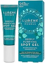 Profumi e cosmetici Gel anti-acne - Lumene Puhdas Deeply Purifying Spot Gel