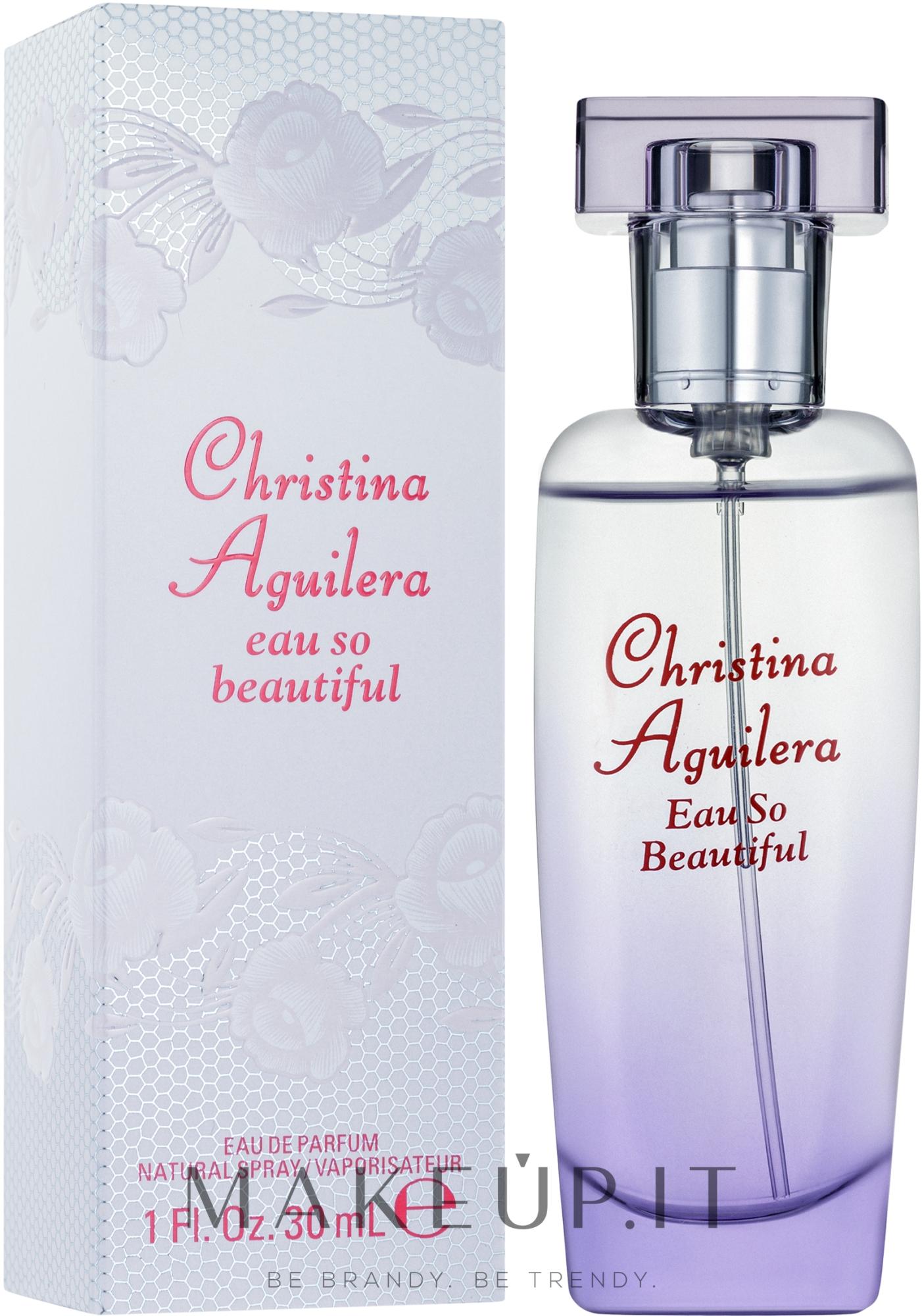 Christina Aguilera Eau So Beautiful - Eau de parfum — foto 30 ml