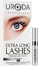 Profumi e cosmetici Siero per la crescita delle ciglia - Uroda Professional Extra Long Lashes Enhancing Serum