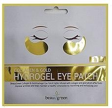 Profumi e cosmetici Cerotti idrogel per gli occhi - BeauuGreen Collagen & Gold