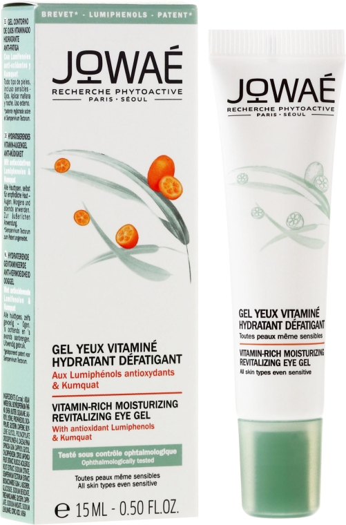 Gel contorno occhi con vitamine - Jowae Vitamin-Rich Moisturizing Revitalizing Eye Gel