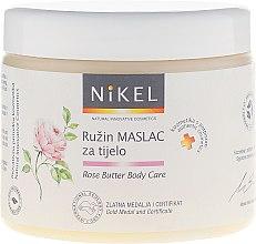 Profumi e cosmetici Burro corpo con rosa - Nikel Rose Butter