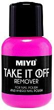 Profumi e cosmetici Solvente per smalto - Miyo Take It Off Remover