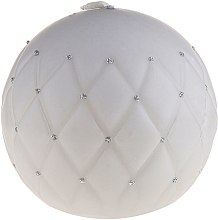 """Profumi e cosmetici Candela decorativa """"Lacquer ball"""" grigia, 10 cm - Artman Florence Mat"""
