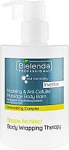Profumi e cosmetici Balsamo corpo anticellulite - Bielenda Professional Med Technology Massage Body Balm