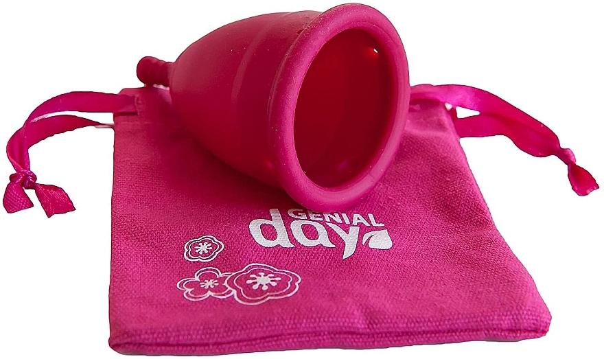 Coppetta mestruale taglia L - Genial Day Menstrual Cup Large — foto N3