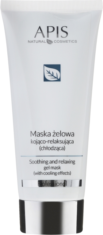 Maschera gel lenitiva e rilassante - APIS Professional Softening And Relaxing Gel Mask