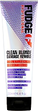 Profumi e cosmetici Balsamo per capelli antigiallo - Fudge Clean Blonde Damage Rewind Conditioner