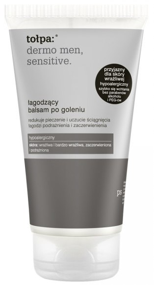 Balsamo lenitivo dopobarba - Tolpa Dermo Men Sensitive Soothing After Shave Balm — foto 125 ml