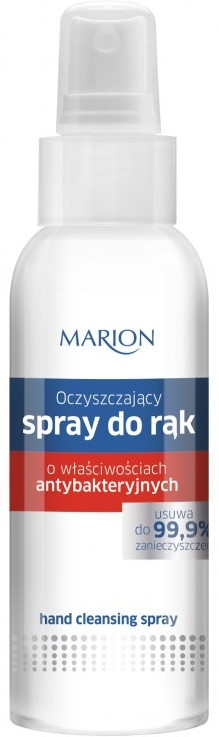 Spray antibatterico per mani - Marion Antibacterial Hand Cleansing Spray