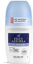 Profumi e cosmetici Deodorante roll'on - Felce Azzurra Deo Roll-on IdraTalc Classic