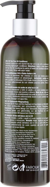 Condizionante per capelli con olio dell'albero del tè - CHI Tea Tree Oil Conditioner — foto N2