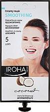 Profumi e cosmetici Maschera viso - Iroha Nature Smoothing Coconut Creamy Mask