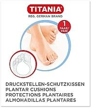 Profumi e cosmetici Protezione piedi anti-pressione, 1 paio - Titania Plantar Cushions