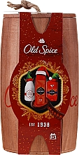 Profumi e cosmetici Set - Old Spice Captain Wooden (deo/50g + sh/gel/250ml + ash/lot/100ml)
