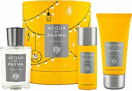 Profumi e cosmetici Acqua Di Parma Colonia Pura - Set (edc/100ml + sh/gel/75ml + deo/50ml)