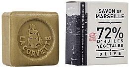 Profumi e cosmetici Sapone all'oliva, in scatola, rettangolare - La Corvette Savon de Marseille Olive