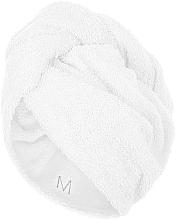 Profumi e cosmetici Asciugamano turbante, bianco - MakeUp