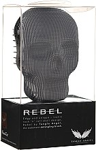 Profumi e cosmetici Spazzola per capelli - Tangle Angel Rebel Brush Black Chrome