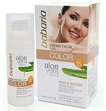 Profumi e cosmetici BB-Crema - Babaria Aloe Vera BB Cream SPF15