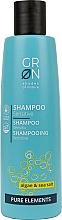 "Profumi e cosmetici Shampoo per capelli ""Alghe e sale marino"" - GRN Pure Elements Sensitive Algae & Sea Salt Shampoo"