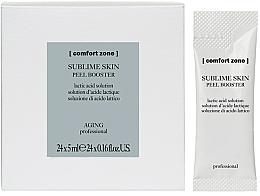 Profumi e cosmetici Booster peeling viso - Comfort Zone Sublime Skin Peel Booster