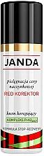 """Profumi e cosmetici Crema correttiva """"Red Concealer"""" - Janda Corrector Capillary Skin Cream"""