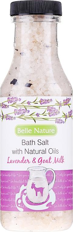 """Sale da bagno """"Lavanda e latte di capra"""" - Belle Nature Bath Salt"""
