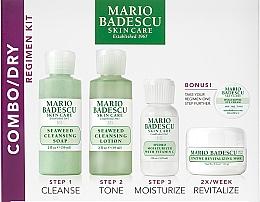 Profumi e cosmetici Set - Mario Badescu Combo Dry Regimen Kit (gel/59ml+lot/59ml+cr/29ml+mask/14g+eye/cr/3g)