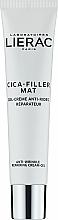 Profumi e cosmetici Gel-crema antietà - Lierac Cica-Filler Mat Anti-Wrinkle Repairing Cream-Gel