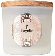 "Profumi e cosmetici Candela profumata in bicchiere ""Crostata di mele"" - Flagolie Fragranced Candle Apple Pie"