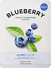 Profumi e cosmetici Maschera in tessuto - It's Skin The Fresh Blueberry Mask Sheet