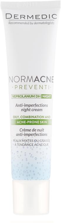 Crema da notte - Dermedic Normacne Preventi Anti-Imperfections Night Cream