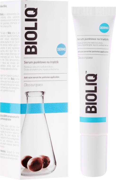 Siero tonificante contro l' acne - Bioliq Dermo Serum Point On Acne Skin