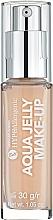 Profumi e cosmetici Fondotinta idratante e opacizzante ipoallergenica, con consistenza di gelatina - Bell Hypoallergenic Aqua Jelly Make-Up