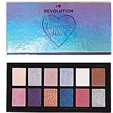 Profumi e cosmetici Palette ombretto occhi - I Heart Revolution Unicorns Heart Eyeshadow Palette