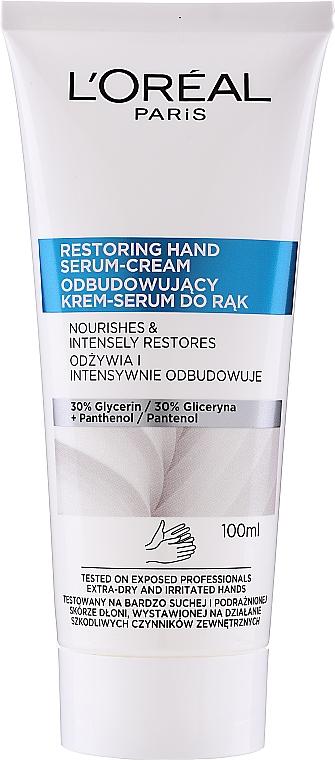Crema-siero per mani - L'Oreal Paris Dermo Restoring Hand Serum-Cream