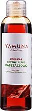 "Profumi e cosmetici Olio da massaggio ""Paprika"" - Yamuna Paprika Plant Based Massage Oil"